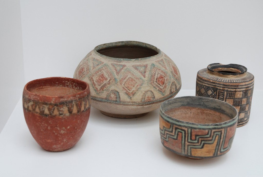 Examples of domestic pots from the Indus Valley Civilization