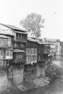 Typical houses on the river bank 3