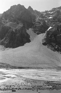 Highway - glacial ravine