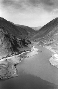 Sind and Zanskar rivers merging