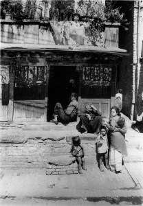 Nepali family - Patan