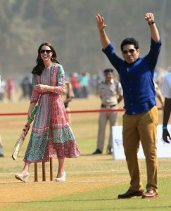 Kate and Sachin - 10 April 2016